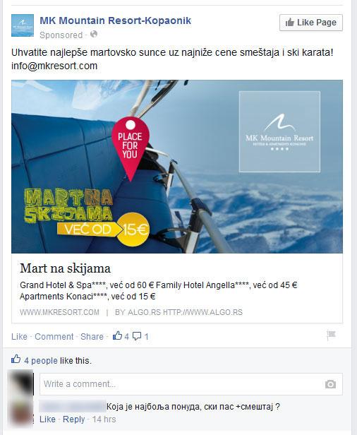 losa-facebook-promocija